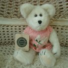 BOYDS BEARS ADORABLE EASTER BEAR WITH BUNNY SWEATER **NEW**