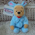 ADORABLE DISNEY WINNIE THE POOH EASTER BUNNY RETIRED ***SO CUTE** NEW WITH TAG