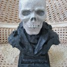 LARGE SKELETON HEAD GLITTER HALLOWEEN DECORATION ***SPOOKY***
