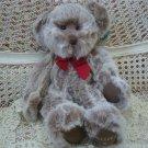 "RUSS BERRIE BELIEVE 14"" TALL CHRISTMAS TEDDY BEAR ***NEW*** **SO CUTE**"