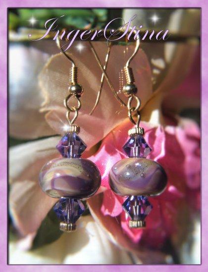 Purple Girl Earrings