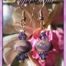 Purple Girl Earrings