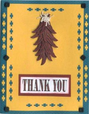 Southwest Thank You Card