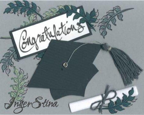 Elegant Graduation Card