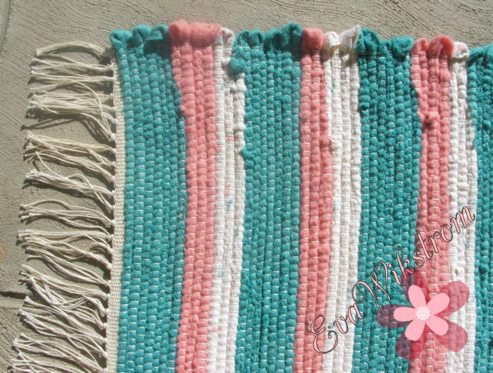 Handcrafted Swedish Rag Rug