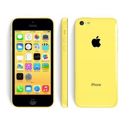 Apple iPhone 5c 4� Cell Phone 8MP Unlocked Smart Phone iOS � 16GB Yellow