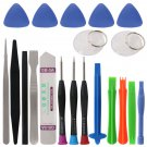 20 in 1 Mobile Phone Repair Tools Kit Pry Opening Tool Screwdriver Set for iPhone iPad Samsung