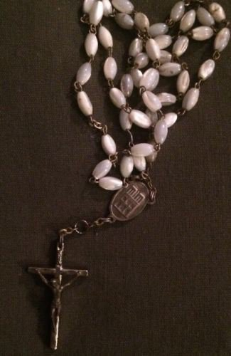Mother of pearl Jerusalem Rosary