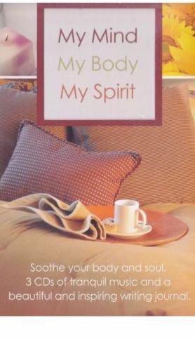 MY MIND, MY BODY, MY SPIRIT 3CD BOX SET W/WRITING JOURNAL