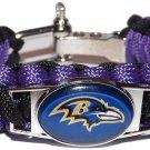 Baltimore Ravens Paracord Bracelet