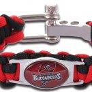 Tampa Bay Buccaneers Paracord Bracelet