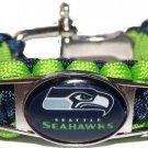 Seattle Seahawks Paracord Bracelet