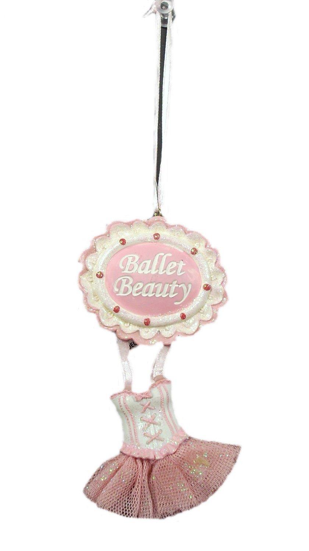 Ballet Beauty Sugar Plum Theme Christmas Ornament
