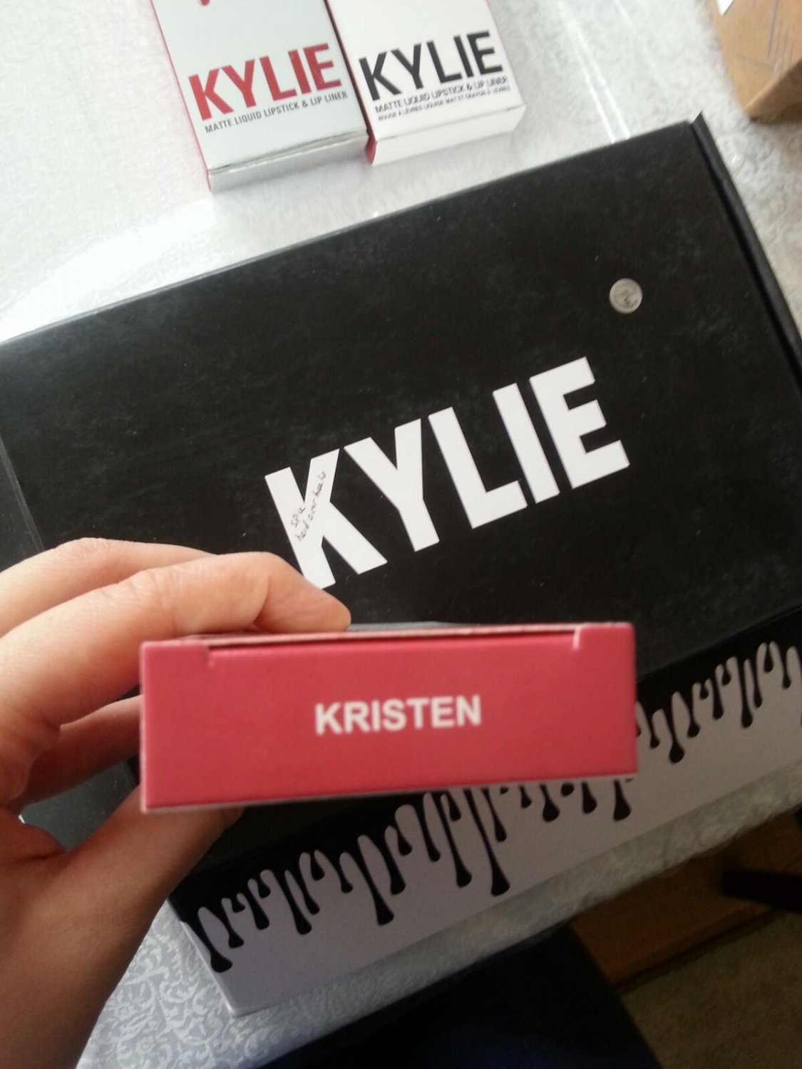 Kylie Jenner Matte Liquid Lip Kit in Kristen