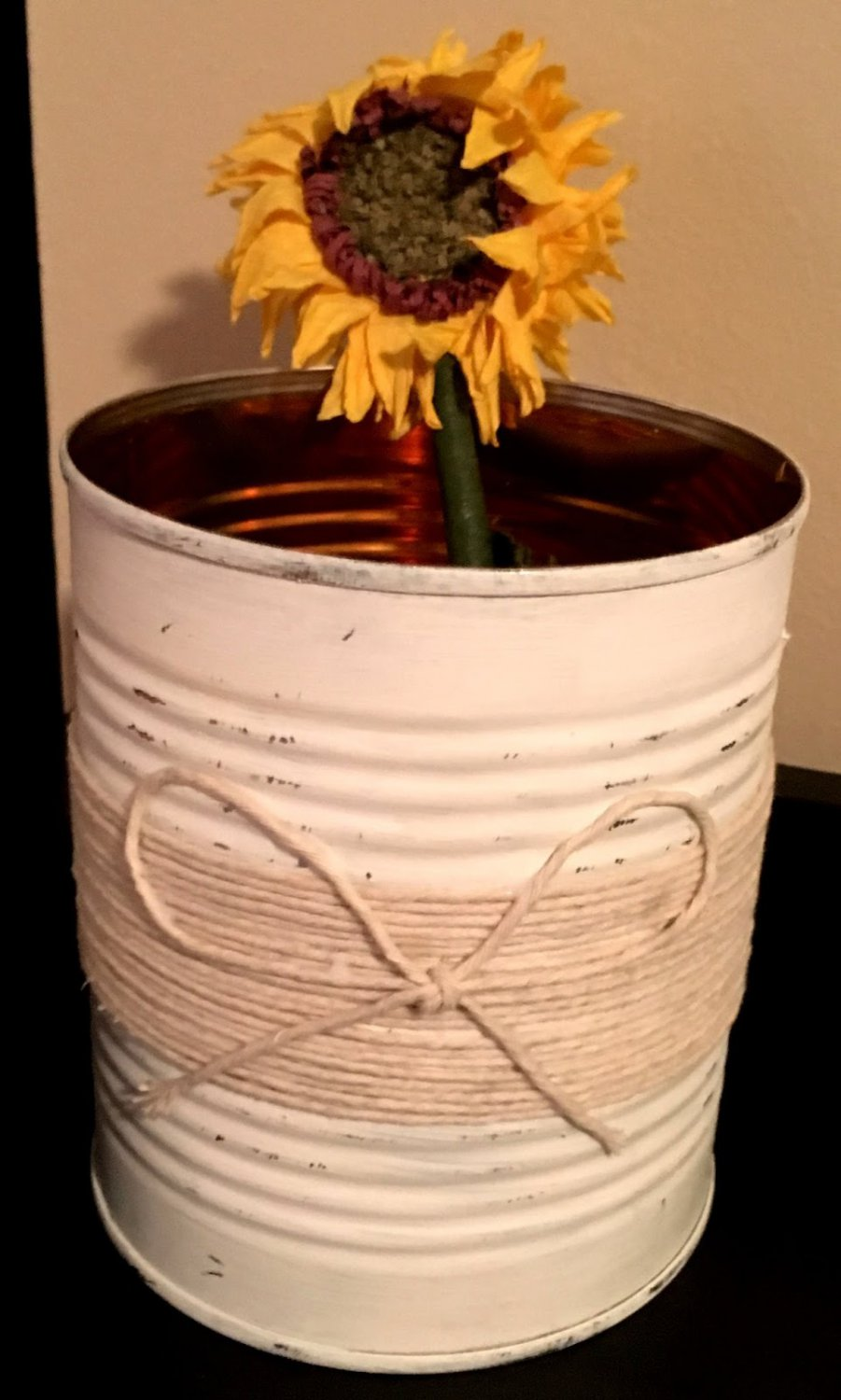 Tin Can with a Rustic Twist (28oz)