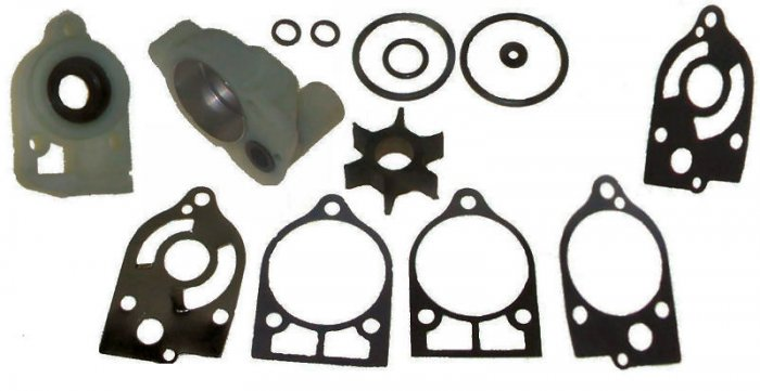 Water Pump Kit for some Mercury Outboards 40-65 HP replaces part number 46-77516A 3 (TM3322)