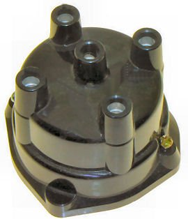 Marine Distributor Cap for Delco 4 Cyl Screwdown replaces 393-9459Q 1, 380541 (TM5385)