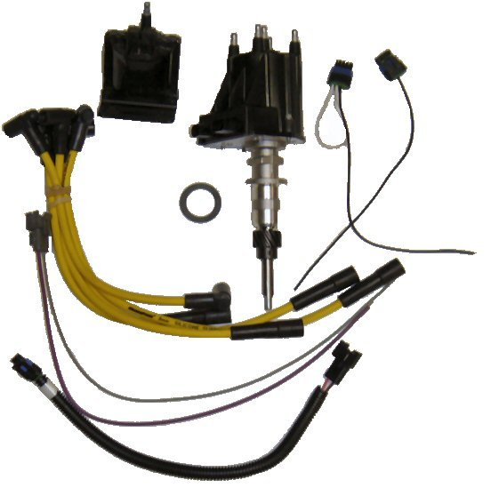Comprehensive Delco-Style Ignition Kit for 4 cyl (3.0L) GM, Chevy (TM4C01)