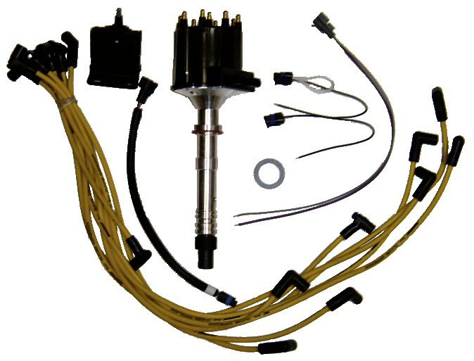 Comprehensive Marine Delco-Style Ignition Kit for V8 GM, Chevy (TM8C01)