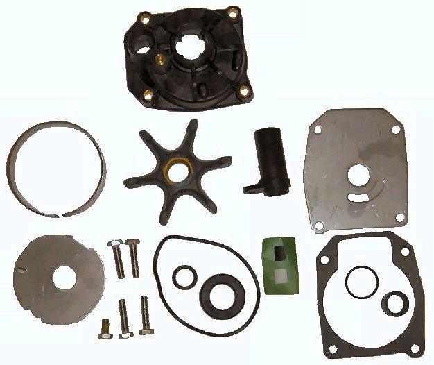 Water Pump Kit with Housing for Johnson Evinrude 3 cyl. (TM3389)