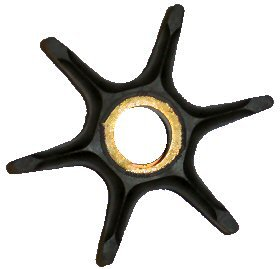 Water Pump Impeller for Johnson Evinrude Outboards 60-75 HP replaces Part Number 396725 (TM3053)