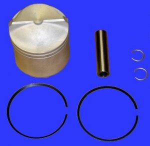 Piston Kit for Johnson Evinrude V4 V6 Crossflow .030 Replaces 5006669 (TM4100)
