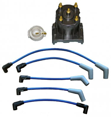Marine Tune Up Kit with Plug Wires for Some Mercruiser 3.0L LX (TM5280-405)