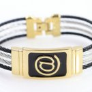 Unisex gorgeous bracelet!!!! Ultra popular cable wire design