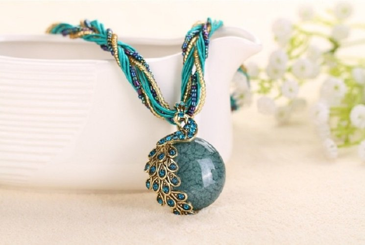 Statement Natural Stone High Quality Pendant For Women