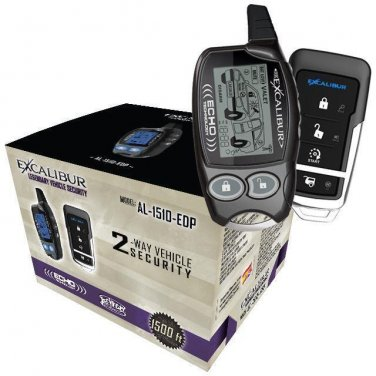 EXCALIBUR/OMEGA AL1510EDP LCD 2-Way Vehicle Security & Keyless Entry system