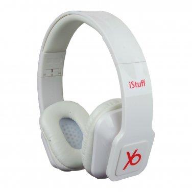 HP-Y5-WH DJ/Studio Slim Style Dynamic Digital HD Audio Stereo Headphones Headset