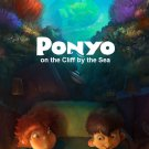 Ponyo Animated Film Art 32x24 Poster Decor