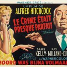 Hitchcock S Dial M For Murder Art 32x24 Poster Decor