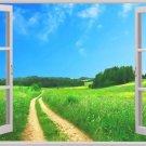 Window Outdoor Landscape Home Decor Art 32x24 Poster Decor