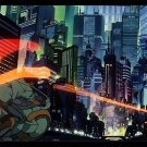 Akira Red Fighting Japan Anime Art 32x24 Poster Decor