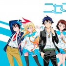 Nisekoi Anime Art 32x24 Poster Decor