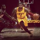 Kyrie Irving Basketball Star Art 32x24 Poster Decor