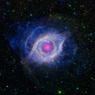 Helix Nebula Space Astrology Art 32x24 Poster Decor