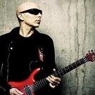 Joe Satriani Guitar Player Art 32x24 Poster Decor