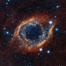 Helix Nebula Space Astrology Art 32x24 Poster Decor