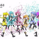 AKB0048 Next Stage Manga Anime Art 32x24 Poster Decor