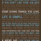 Motivational Success Art Art 32x24 Poster Decor