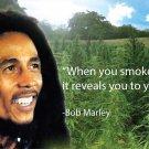 BOB MARLEY Nspirational Quote Art 32x24 Poster Decor