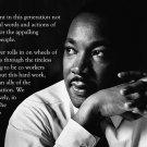 Martin Luther King Jr Art 32x24 Poster Decor