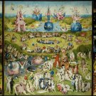 Hieronymus Art Garden Art 32x24 Poster Decor