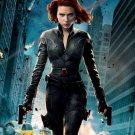 Scarlett Johansson Star Art 32x24 Poster Decor