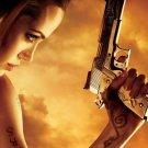 Angelina Jolie Hollywood Movie Star Art 32x24 Poster Decor