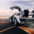 Back To The Future 1 2 3 Movie Art 32x24 Poster Decor