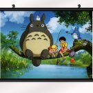 My Neighbor Totoro Animation Poster With Wall Scroll Decor