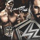 John Cena Art 32x24 Poster Decor